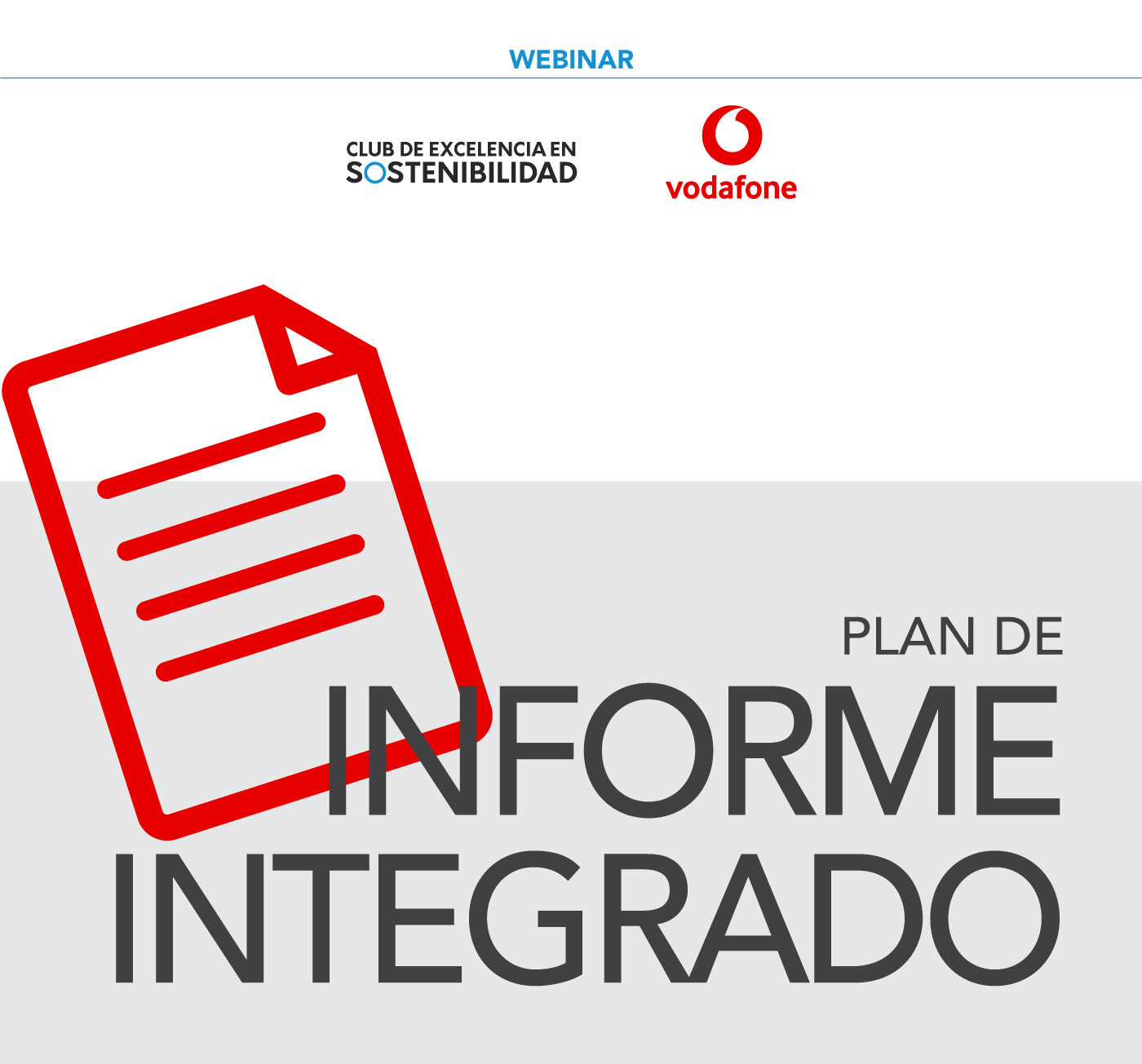 Plan de Informe Integrado. Webinar